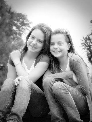 GirlsTracksB&W